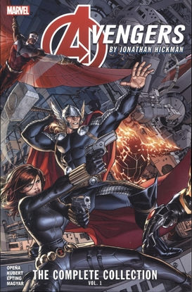 Picture of AVENGERS BY HICKMAN COMPLETE COLLECTION TP VOL 01