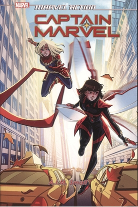 Picture of MARVEL ACTION CAPTAIN MARVEL TP VOL 02 AIM SMALL (C: 0-1-2)
