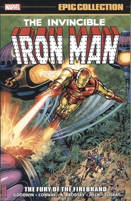 Picture of IRON MAN EPIC COLLECTION TP FURY OF FIREBRAND