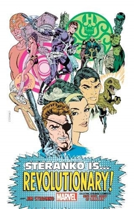 Picture of STERANKO IS REVOLUTIONARY KING-SIZE HC