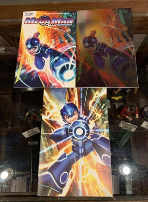 Picture of MEGA MAN FULLY CHARGED (2020) #1 CVR A B C 3 COVER SET NM