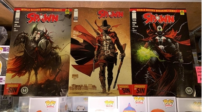 Picture of SPAWN #309 CVR A B C 3 COVER SET NM
