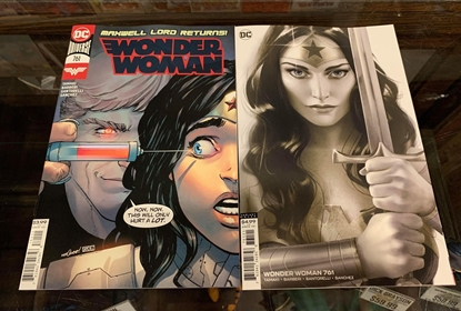 Picture of WONDER WOMAN #761 CVR A & B 2 COVER SET NM