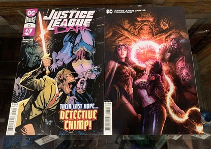 Picture of JUSTICE LEAGUE DARK #25 CVR A & B 2 COVER SET NM