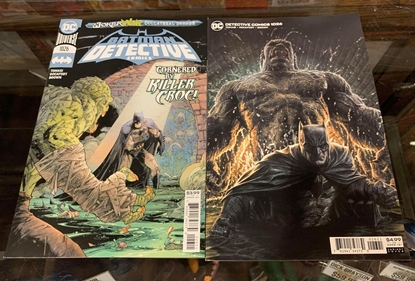 Picture of DETECTIVE COMICS #1026 CVR A & B 2 COVER SET NM (JOKER WAR)