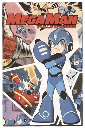Picture of MEGA MAN FULLY CHARGED #1 1 PER STORE VARIANT COVER NM