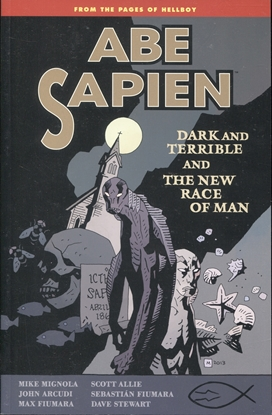 Picture of ABE SAPIEN TP VOL 03 DARK TERRIBLE NEW RACE MAN (C: 0-1-2)