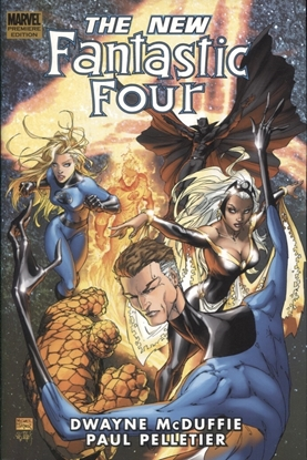 Picture of FANTASTIC FOUR NEW FANTASTIC FOUR PREM HC