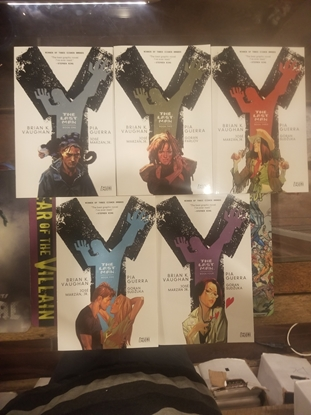 Picture of Y THE LAST MAN VOL 1 2 3 4 5 TPB SET