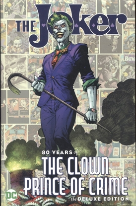 Picture of JOKER 80 YEARS OF THE CLOWN PRINCE OF CRIME HC
