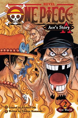 Picture of ONE PIECE ACES STORY NOVEL SC VOL 02 SPADE PIRATES