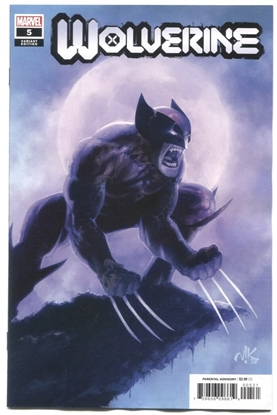 Picture of WOLVERINE (2020) #5 1:25 VARIANT COVER NM-