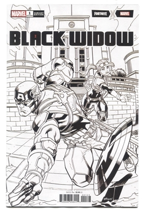 Picture of BLACK WIDOW (2020) #1 1 PER STORE VARIANT COVER NM