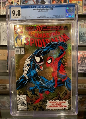 Picture of AMAZING SPIDER-MAN (1963) #375 CGC 9.8 NM/MT WP