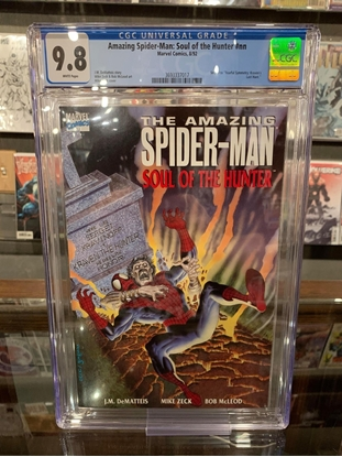 Picture of AMAZING SPIDER-MAN: SOUL OF THE HUNTER (1992) CGC 9.8 NM/MT WP
