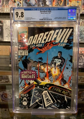 Picture of DAREDEVIL (1964) #292 CGC 9.8 NM/MT WP