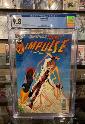 Picture of IMPULSE (1995) #1 CGC 9.8 NM/MT WP