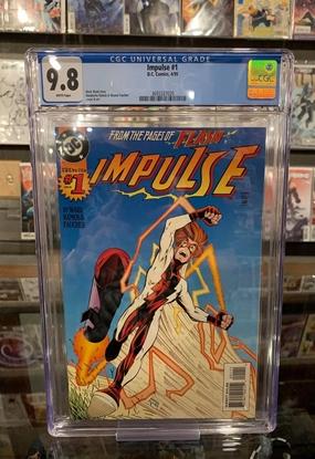 Picture of IMPULSE (1995) #1 CGC 9.8 NM/MT WP