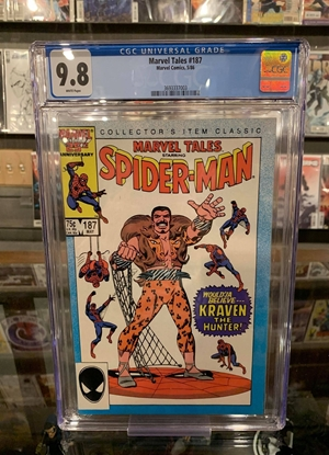 Picture of MARVEL TALES (1964) #187 CGC 9.8 NM/MT WP
