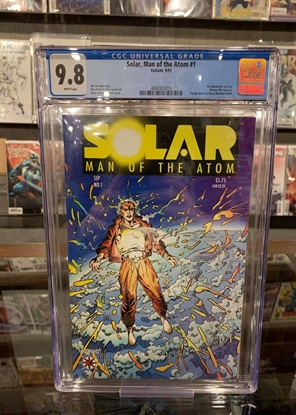 Picture of SOLAR MAN OF THE ATOM (1991) #1 CGC 9.8 NM/MT WP