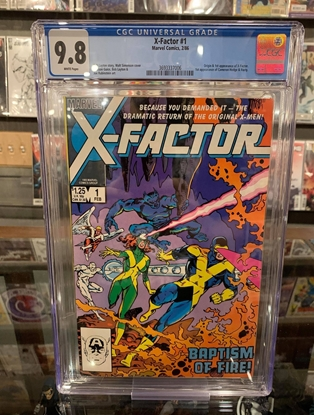 Picture of X-FACTOR (1986) #1 CGC 9.8 NM/MT WP