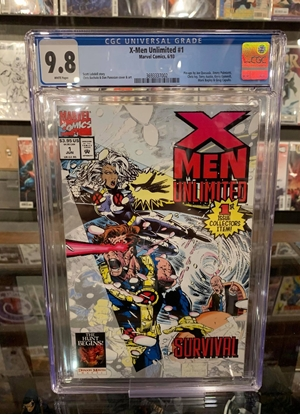 Picture of X-MEN UNLIMITED (1993) #1 CGC 9.8 NM/MT WP