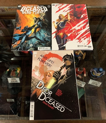 Picture of DCEASED DEAD PLANET #3 CVR A B C 3 COVER SET NM