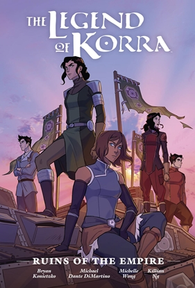 Picture of LEGEND OF KORRA RUINS OF EMPIRE LIBRARY ED HC
