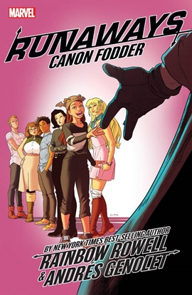 Picture of RUNAWAYS BY RAINBOW ROWELL TP VOL 5 CANNON FODDER