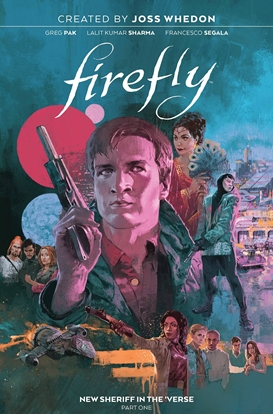 Picture of FIREFLY NEW SHERIFF IN VERSE HC VOL 1