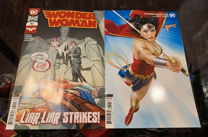 Picture of WONDER WOMAN #762 CVR A & B 2 COVERSET NM