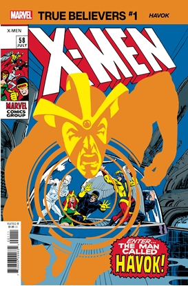 Picture of TRUE BELIEVERS X-MEN HAVOK #1