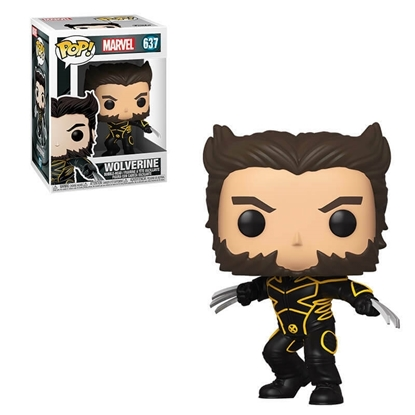 Picture of FUNKO POP MARVEL X-MEN 20TH ANNIVERSARY WOLVERINE #637 IN X SUIT NEW VINYL FIGURE