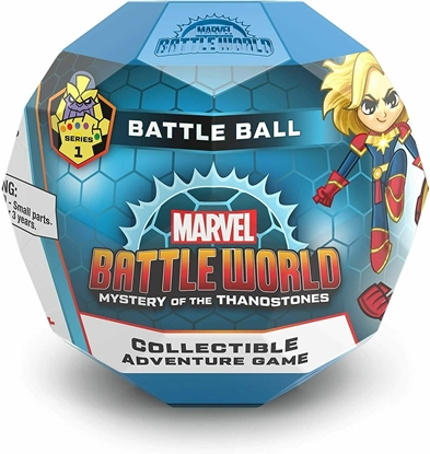 Picture of FUNKO MARVEL BATTLEWORLD MYSTERY OF THE THANOSTONE  COLLECTIBLE ADVENTURE GAME BATTLE BALL