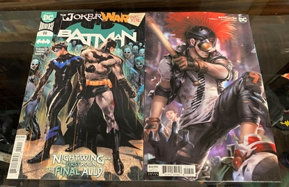 Picture of BATMAN #99 CVR A  & B 2 COVER SET NM