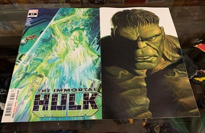 Picture of IMMORTAL HULK #37 1ST PRINT & TIMELESS VARIANT COVER SET NM