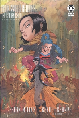 Picture of DARK KNIGHT RETURNS THE GOLDEN CHILD DELUXE EDITION HC