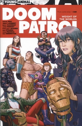 Picture of DOOM PATROL WEIGHT OF THE WORLDS TP