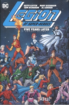 Picture of LEGION OF SUPER-HEROES FIVE YEARS LATER OMNIBUS VOL 01 HC