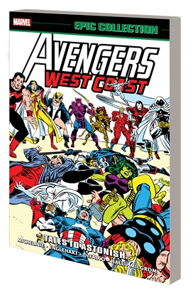 Picture of AVENGERS WEST COAST EPIC COLLECTION TP TALES TO ASTONISH