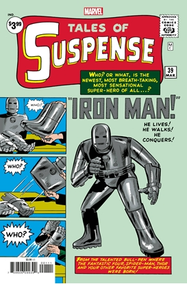 Picture of TALES OF SUSPENSE #39 FACSIMILE EDITION