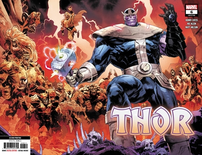 Picture of THOR #6 2ND PRINT KLEIN VARIANT