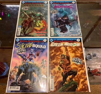 Picture of GOTHAM RESISTANCE PART #1-4 1ST PRINT SET VF/NM