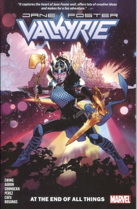 Picture of VALKYRIE JANE FOSTER TP VOL 02 AT THE END OF ALL THINGS