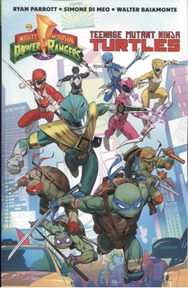 Picture of POWER RANGERS TEENAGE MUTANT NINJA TURTLES TP (C: 1-1-2)