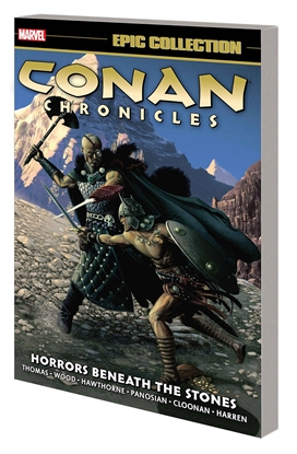 Picture of CONAN CHRONICLES EPIC COLLECTION TP HORRORS BENEATH STONES
