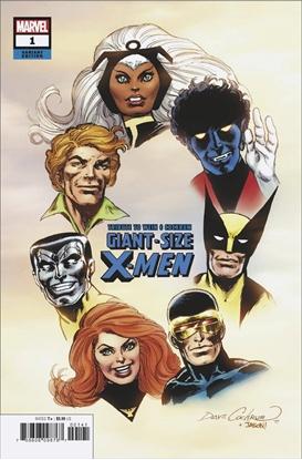 Picture of GIANT SIZE X-MEN TRIBUTE WEIN COCKRUM #1 HIDDEN GEM VARIANT