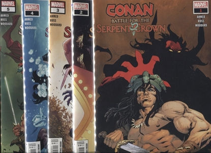Picture of CONAN BATTLE FOR SERPENT CROWN #1-5 SET