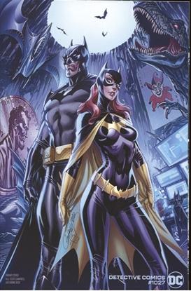Picture of DETECTIVE COMICS #1027 CVR C J SCOTT CAMPBELL BATMAN BATGIRL VAR