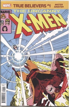 Picture of TRUE BELIEVERS X-MEN MISTER SINISTER #1